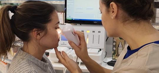En enero: análisis gratuito de la piel